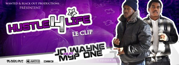 Official Clip - MyP One Feat Jo Wayne - Hustle 4 life (by vjsparky)