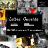 Lettre Ouverte de Monis vue + de 10.000 vues en 2 semaines