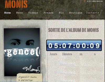 Urgence(s) l'album de Monis - sortie le 7 f�vrier 2011