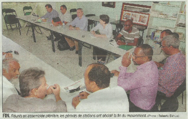 2014 COMMUNIQUE ACS GUADELOUPE, MARTINIQUE, GUYANE