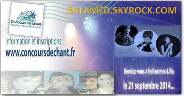 Troph�e Daniel Balavoine, concours de chant le 21 Septembre 2014 � Hellemes