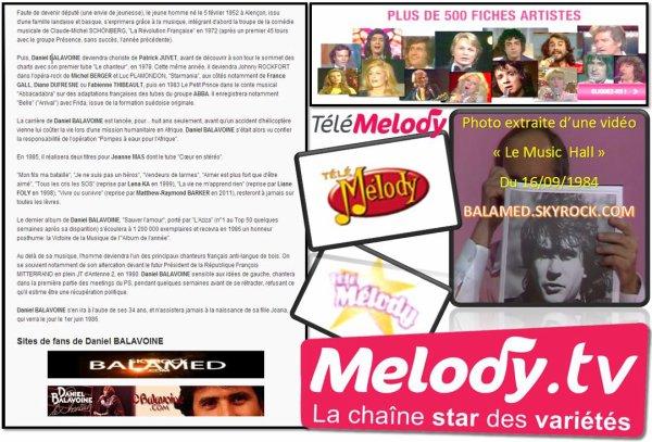 Melody TV : L'histoire d'une naissance