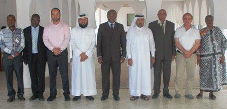 Les qataries à Anjouan pour une évaluation des travaux de l'hôpital de Hombo