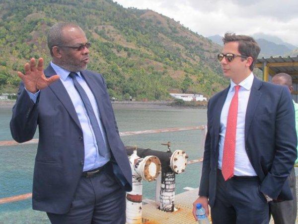 Conduite par monsieur Chris Budden, Directeur Général de Bahari Ressources LTD Comores, une délégation de Mina Group qui s'occupe des produits pétroliers raffinés a effectué