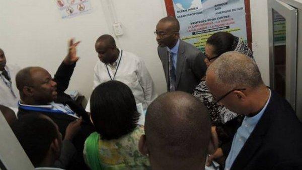 Les Comores se prot�gent de l'�pid�mie d'Ebola