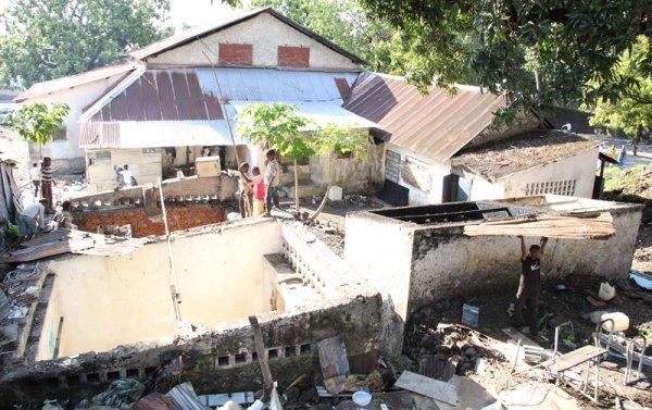 Litige foncier opposant Al-watwan à Mabou Zainaba : Une partie des bâtiments de votre journal démolie hier