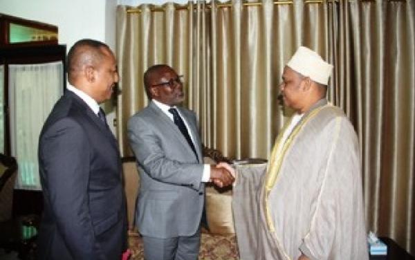 Le Président de la République s'est entretenu avec le Sous-directeur Général du BIT