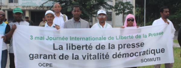JOURNEE INTERNATIONALE DE LIBERTE DE LA PRESSE