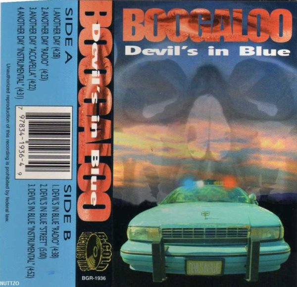 Boogaloo - Devil's In Blue *tape single*