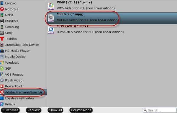 Encode Sony F5/F55 MXF to After Effects CC on Mac Mavericks