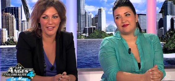 Carine Haddadou et Amalya Delepierre Dans Les Anges Le Mag (Mise � Jour)
