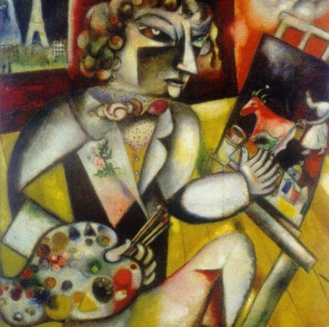 Biographie de marc chagall et les grand v nements du 20e for Biographie de marc chagall