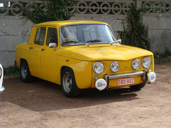 renault 8 s 1968 street cars. Black Bedroom Furniture Sets. Home Design Ideas