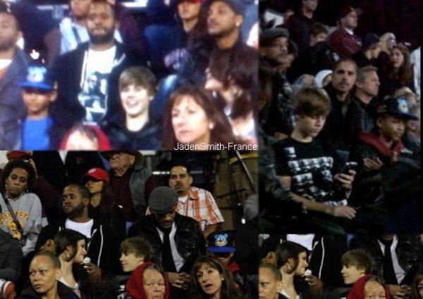 Selena Gomez, Justin Bieber et la famille Smith