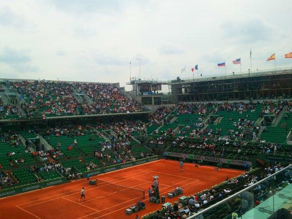 Br�ves du lundi 2 juin 2014 - Un jour � Roland-Garros...