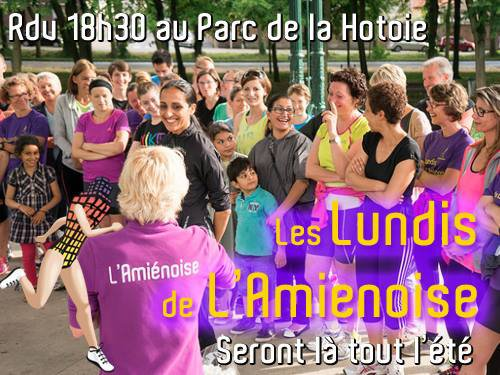 Lundi de l'Ami�noise - 9 juin 2014. Emotions et r�cup�ration active...