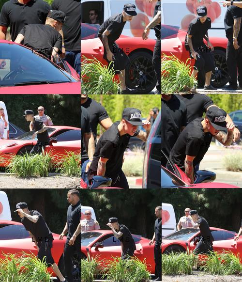 Justin impliqu� dans un accident avec un paparazzo