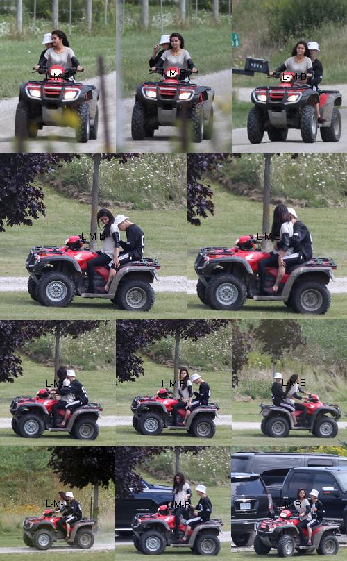 Photos et vid�o de Justin