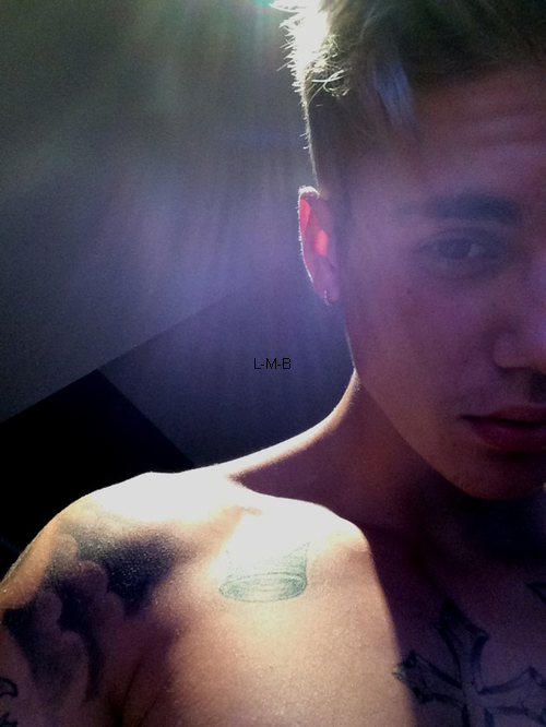 Photos post�es par Justin sur Instagram et Shots of me