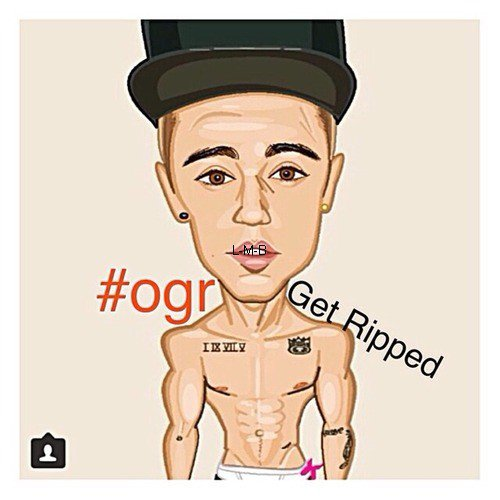 Photos diverses de Justin + Vid�o post�e sur Instagram