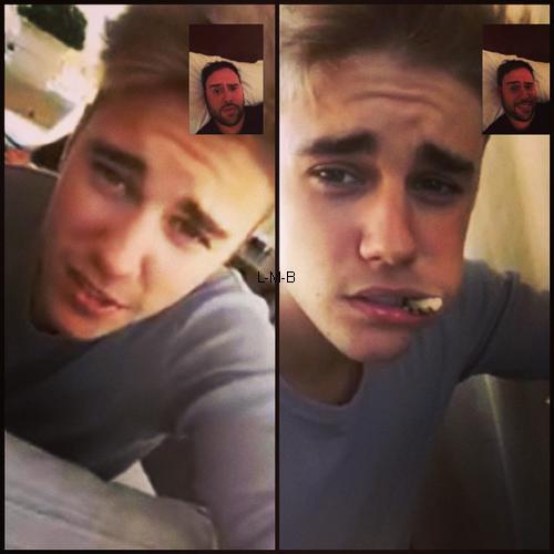 Photos de Justin (suite) + Vid�os post�es sur Vine