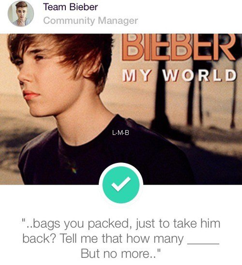 Photos et vid�o de Justin + Photo post�e sur Fahlo