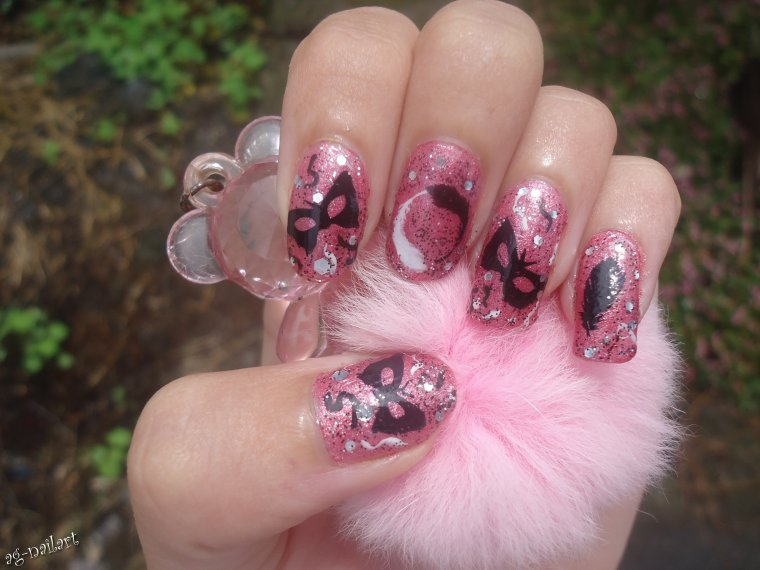 nail art au stamping n 4 carnaval mon univers nail art sur ongles naturels. Black Bedroom Furniture Sets. Home Design Ideas