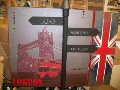 Home deco tableau de londres blog de passiondeco nath72 for Tableau paris londres new york