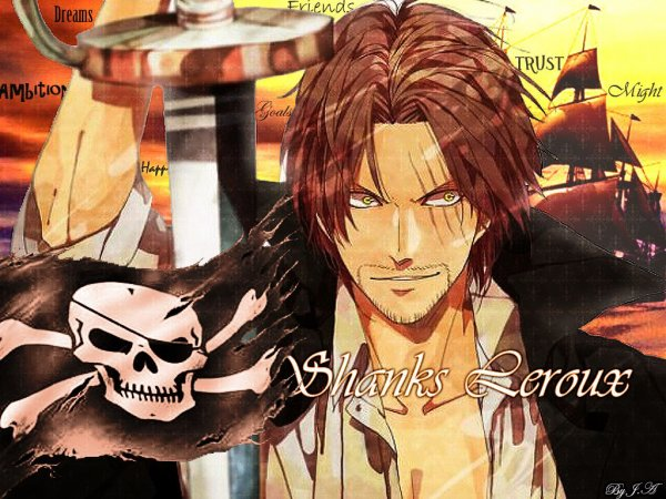 Rencontre shanks barbe blanche episode