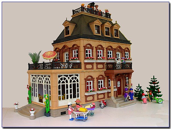 maison de poup es playmobil poupees passion 52. Black Bedroom Furniture Sets. Home Design Ideas