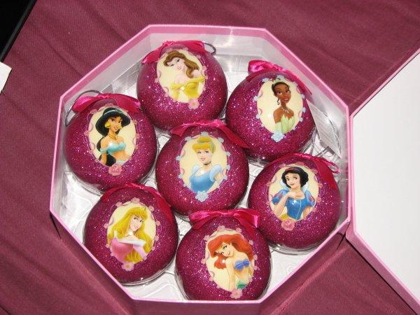 disney store boules de no 235 l princesses le monde merveilleux de disney