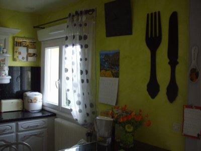 Blog de bidouillesylvie page 3 la r novation de for Murs cuisine gris perle