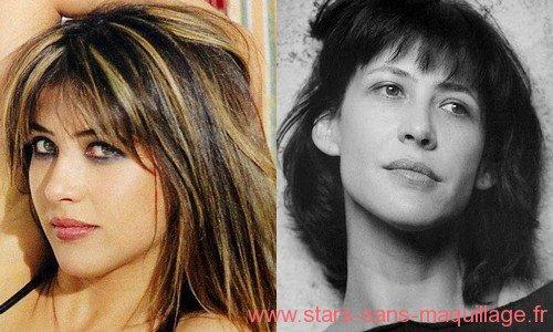 Sophie marceau avec ou sans maquillage - Sophie davant sans maquillage ...
