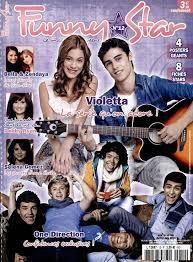 """Les magazine sur Violetta, Martina Stoessel ou autre acteurs de """"Violetta"""" que je vous conseille"""