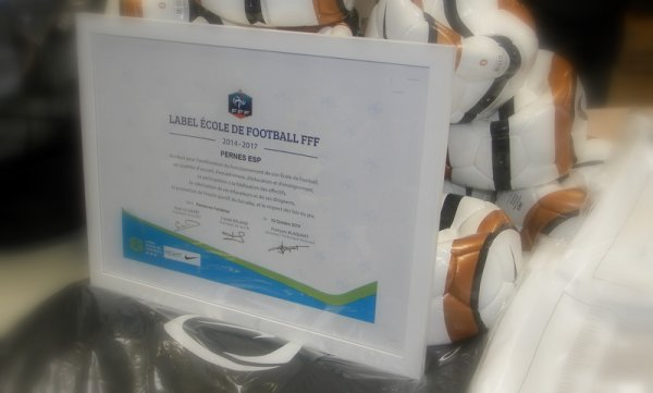 "LABEL ECOLE DE FOOTBALL FFF  ""BIS REPETITA"""