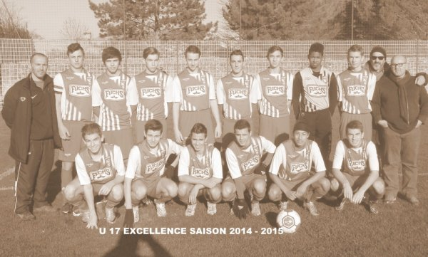 U 17 EXCELLENCE  :  PERNES - ORANGE  :  2-4