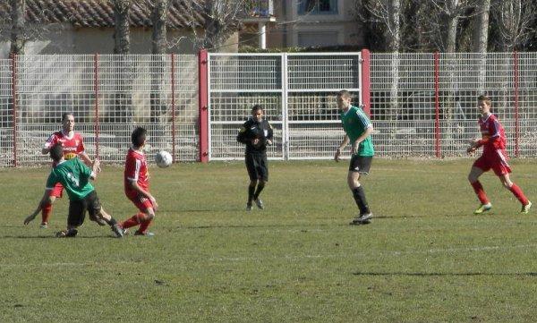 U 19 DHR  :  PERNES  -  LA VALETTE  :  1-0