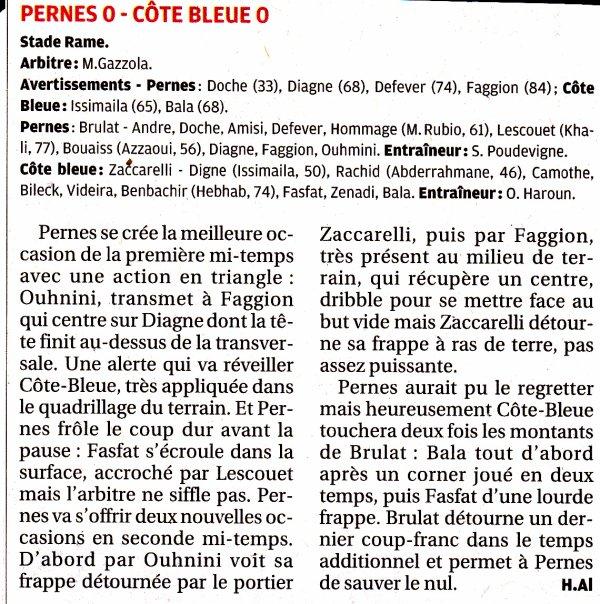 """PERNES  -  CÔTE BLEUE VUE PAR """"LA PROVENCE"""""""