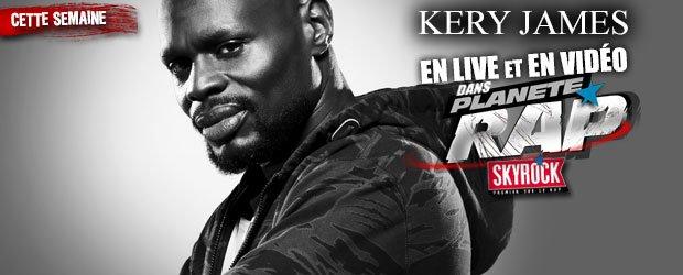 Prends la place de Fred Musa et pose ta question � Kery James dans Plan�te Rap sur @SkyrockFm