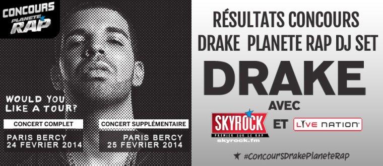 Fin du concours Drake Plan�te Rap DJ set! (R�sultats)