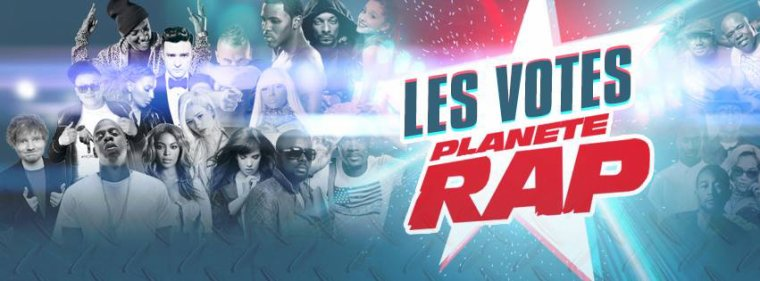 Votes Plan�te Rap 2014