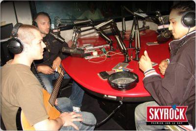Toma en Live sur Skyrock.