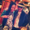 Pharrell en studio avec ... - Hollywood - 23 novembre 2013