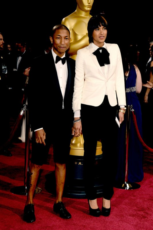 Pharrell - 86e C�r�monie des Oscars - Hollywood - 2 mars 2014