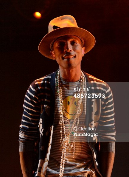 Pharrell - Coachella Festival - 19 avril 2014