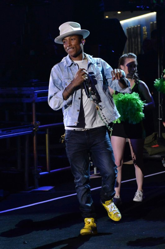 Pharrell - Nickelodeon Kids' Choice Sports Awards Show - Los Angeles - 17 juillet 2014