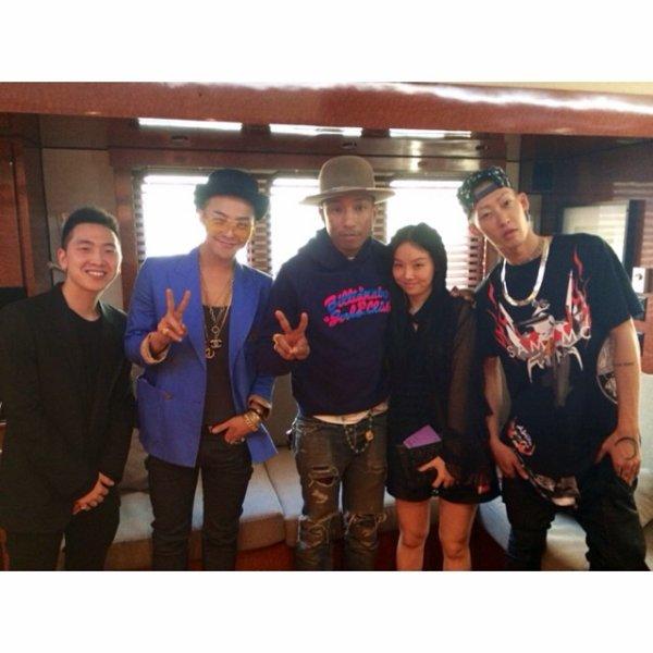 Pharrell & ... - Los Angeles - 12 ao�t 2014