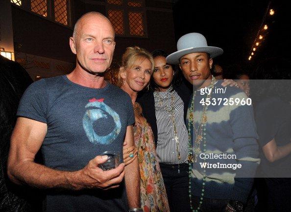 Pharrell - Apollo in the Hamptons - East Hampton, NY - 16 ao�t 2014