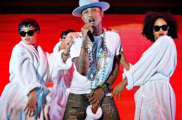 Pharrell & The Baes - The Dear G  I  R  L Tour - Copenhague - 12 septembre 2014
