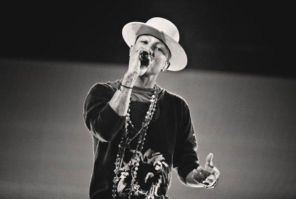 Pharrell and The Baes - The Dear G  I  R  L Tour - Globen - Stockholm - 13 septembre 2014